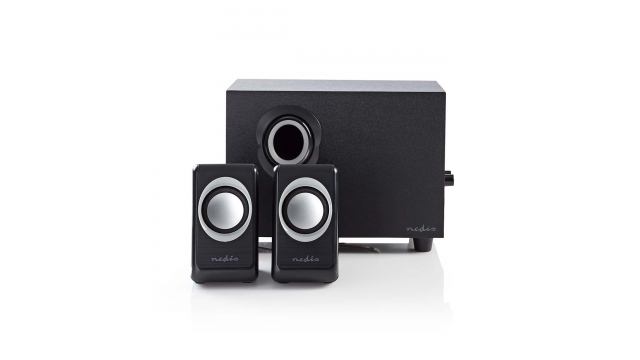 Nedis CSPR10021BK Pc Speaker 2.1 33 W 3.5mm Jack
