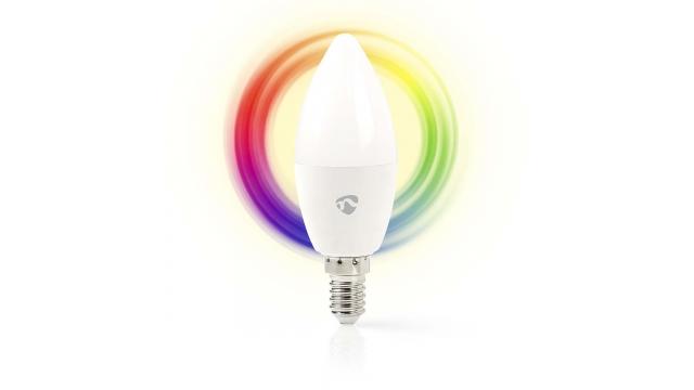 Nedis WIFILC10WTE14 Wi-fi Slimme Led-lamp Full-colour En Warm-wit E14