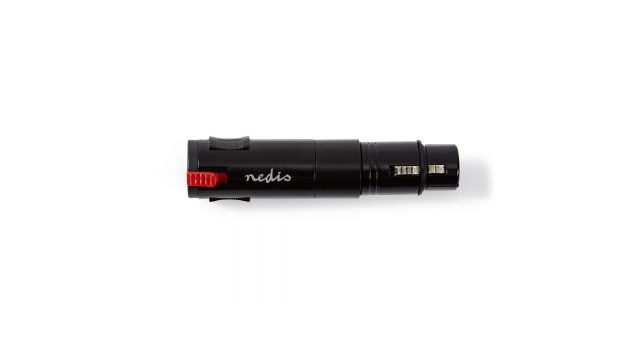 Nedis COTP15945BK Xlr-adapter Stereo Xlr 3-pins Male - 6,3 Mm Female Zwart