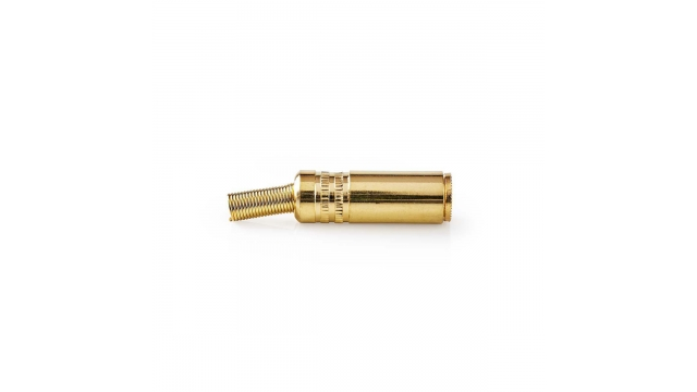 Nedis CAVC22910GD Jack-stereoconnector 3,5 Mm Female 25 Stuks Goud