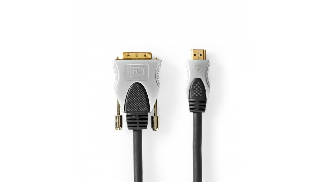Nedis CCGC34800AT15 Hdmi™ - Dvi-kabel Hdmi™-connector - Dvi-d 24+1-pins Male 1,50 M Zwart