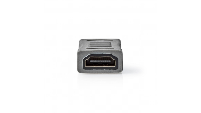 Nedis CVGC34900ME High Speed Hdmi™ Met Ethernet-adapter Hdmi™ Female - Male Metaal Zwart