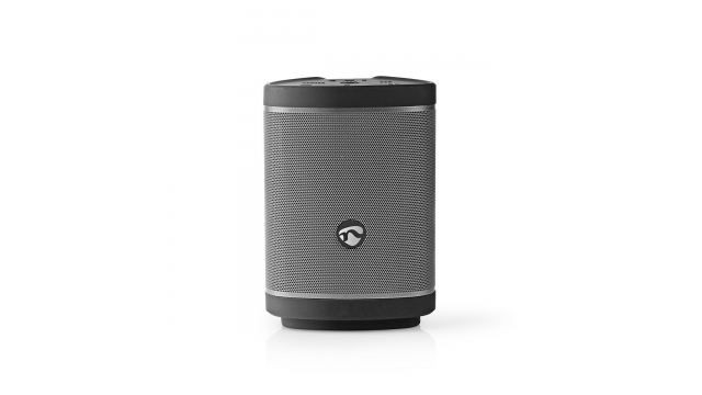 Nedis SPBT6000BK Bluetooth®-speaker 90 W Party Mode Tot Wel 100 Speakers Voice Control Zwart / Gun Metal Grey