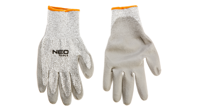 "Neo Tools Werkhandschoen Snij Bestendig Level 5 10"" KAT 2 PU Hand Palm Coating"