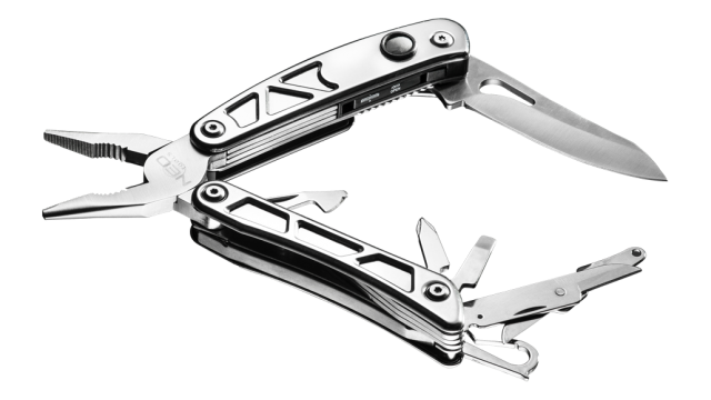 Neo Tools Multitool 7 Elementen Met LED TUV M+T