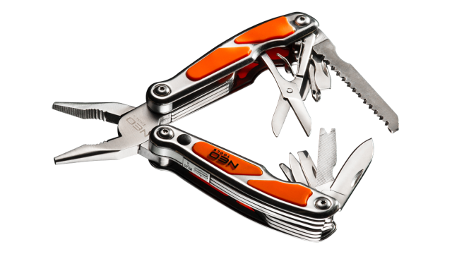 Neo Tools Multitool 12 Elementen Met LED TUV M+T