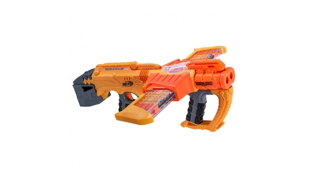 Nerf Doomlands Double Dealer Blaster met 24 Elite Darts