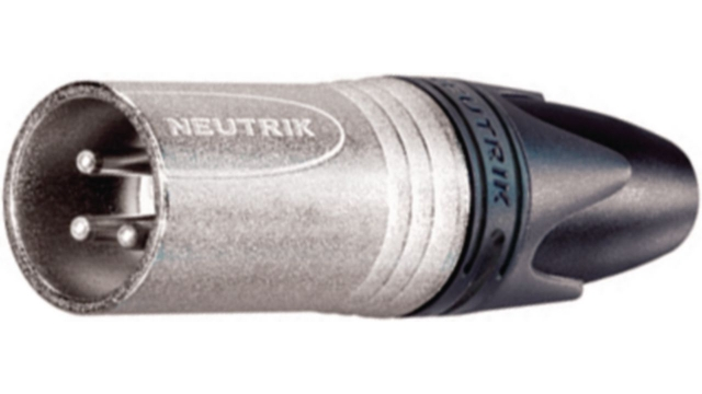 Neutrik NTR-NC4MXX Xlr Cable Plug 4 Cable Plug/straight Xx Soldeer Connecties Nickel-plated