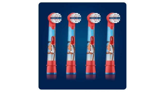 Oral B Stages Power Kids Opzetborstels met Disneyfiguren 4 Stuks