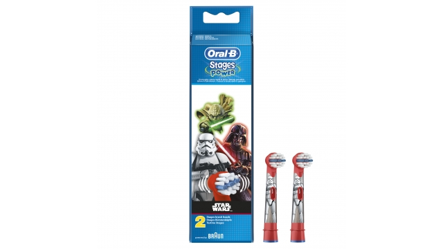 Oral B Stages Power Star Wars Opzetborstels 2 Stuks