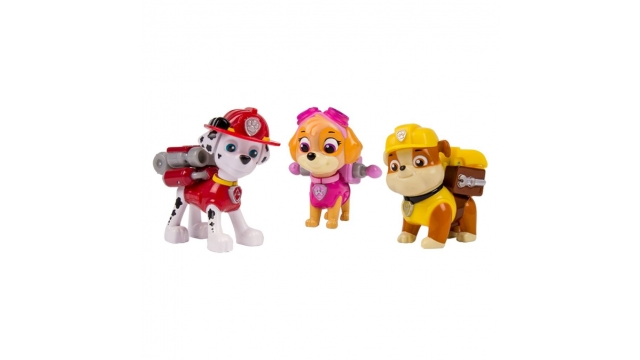 Paw Patrol Action Pack Pups 3 Stuks