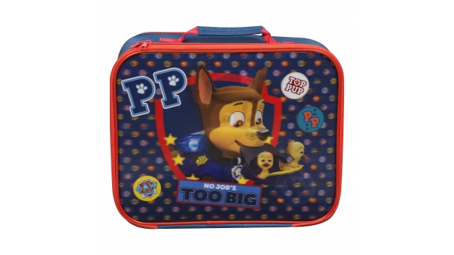 Paw Patrol No Job's Too Big 3D Koffer Blauw/Rood