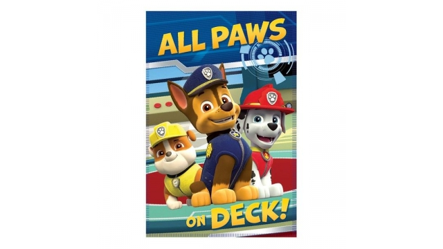 Paw Patrol Fleece Deken 100x140
