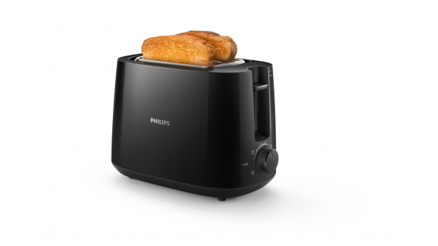 Philips Daily HD2581 Broodrooster Zwart