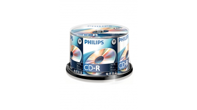 Philips CD-R 52x 80m spindle 50