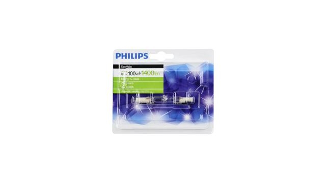 Philips EcoHalo Dimbare Halogeen Staaf Lamp R7s 80W 78mm