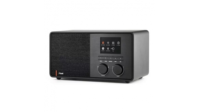 Pinell Supersound 301 Internetradio Zwart
