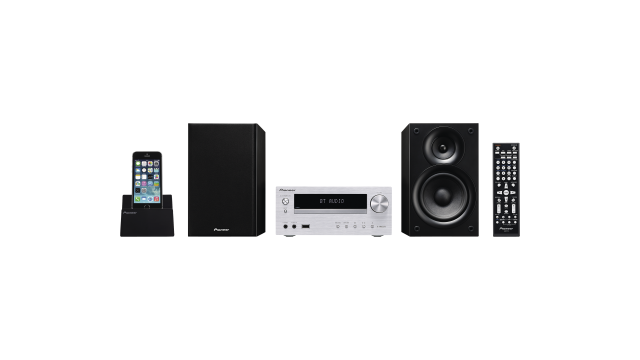 Pioneer X-HM32V-S Microsysteem Zilver