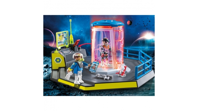 Playmobil 70009 Super Set Galaxy Police met Licht