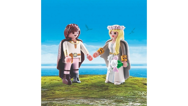 Playmobil 70045 Dreamworks Dragons Astrid en Hikkie Bruiloft