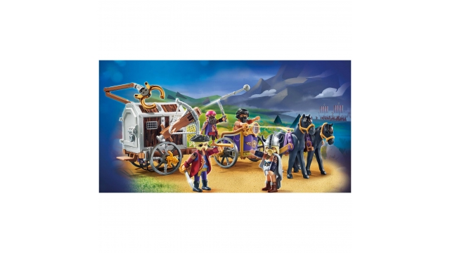 Playmobil 70073 The Movie Charlie met de Gevangeniswagon