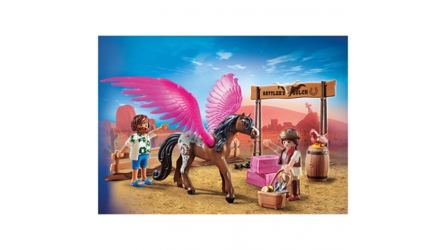 Playmobil 70074 The Movie Ratteler's Rach met Gevleugeld Paard