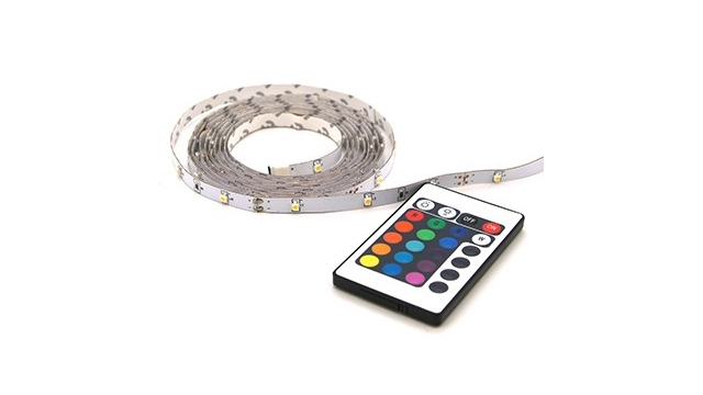 Profile LED STRIP RGB 2M +Afstandsbediening IP20