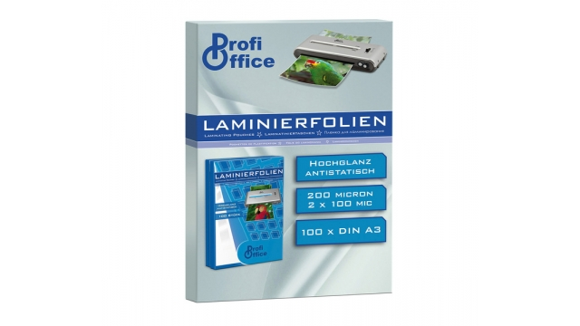 ProfiOffice PO-19008 Lamineerhoes 100 Micron 100 Vel A3 303x426mm