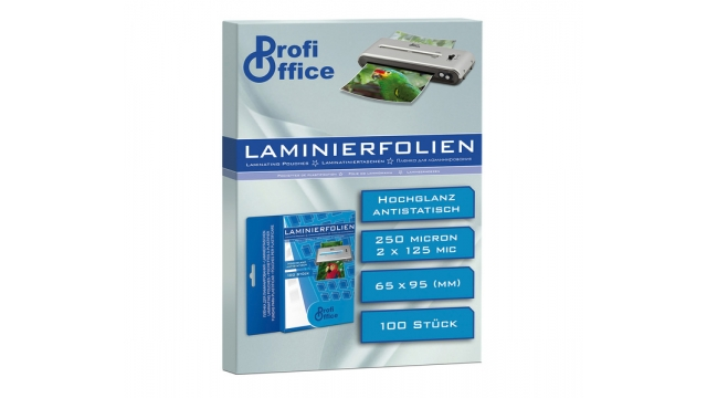 ProfiOffice PO-19028 Lamineerhoes 125 Micron 100 Vel 65x95mm