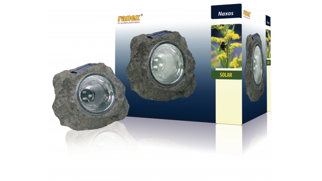 Ranex RA-5000154 Solar Tuinlamp 3 Led