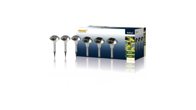 Ranex Ra-outdoor20 3 Led Solar Tuinlampen met Steekpin Ip44