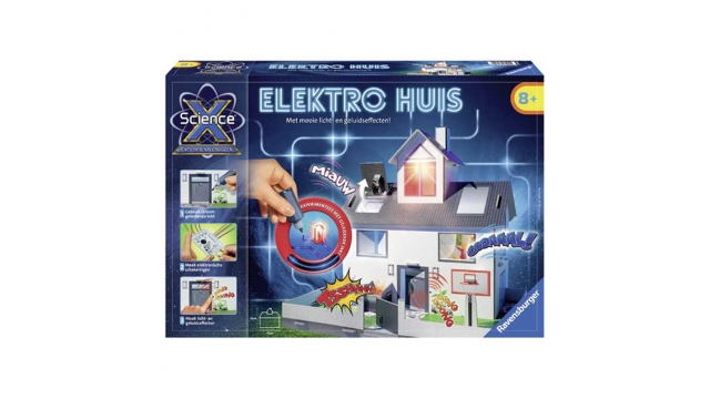 Ravensburger Science X 3D Elektrohuis