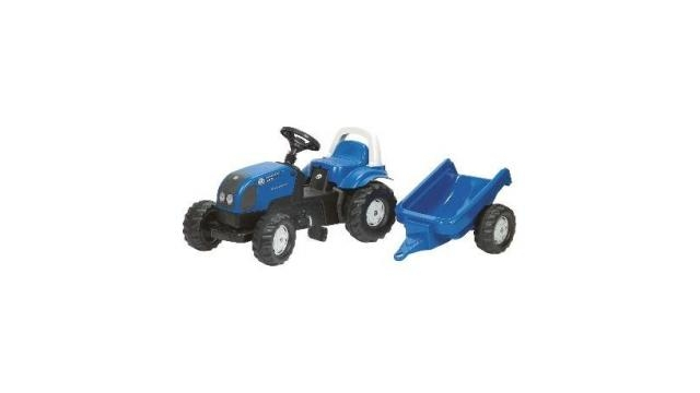 Rolly Toys 011841 RollyKid Landini Power Farm 100 Tractor + Aanhanger