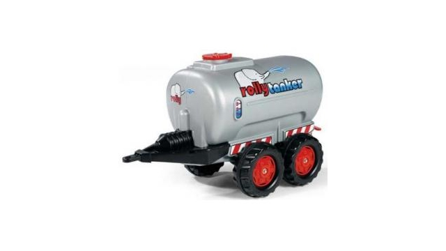 Rolly Toys 122127 RollyTanker Zilver