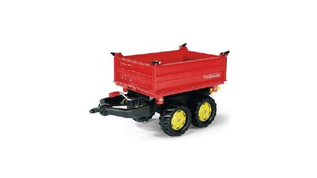 Rolly Toys 123001 RollyMega Trailer Rood