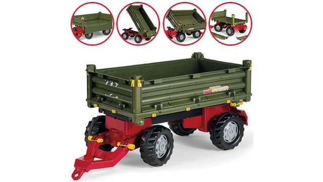 Rolly Toys 125005 RollyMulti Trailer 2-assig