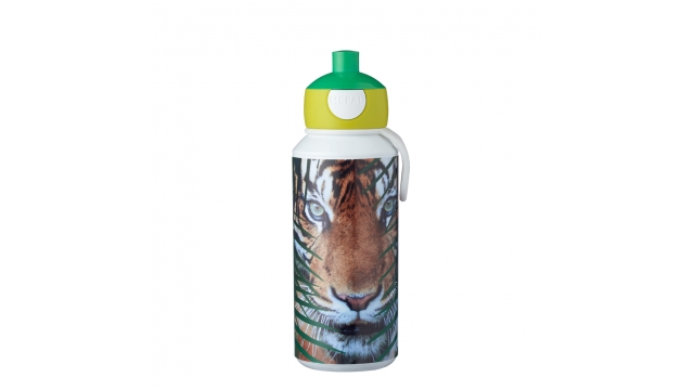 Rosti Mepal Drinkfles Pop-Up Animal Planet Tijger 400 ml