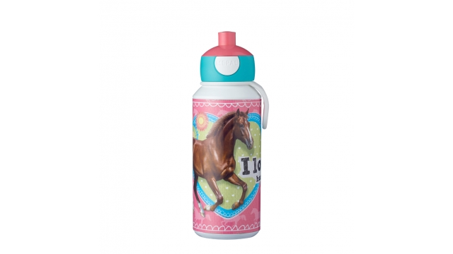 Rosti Mepal Drinkfles Pop-Up Mijn Paard 400 ml