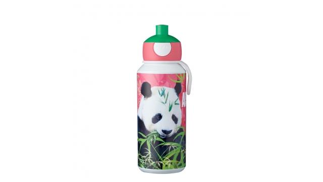Rosti Mepal Drinkfles Pop-Up Animal Planet Panda 400 ml