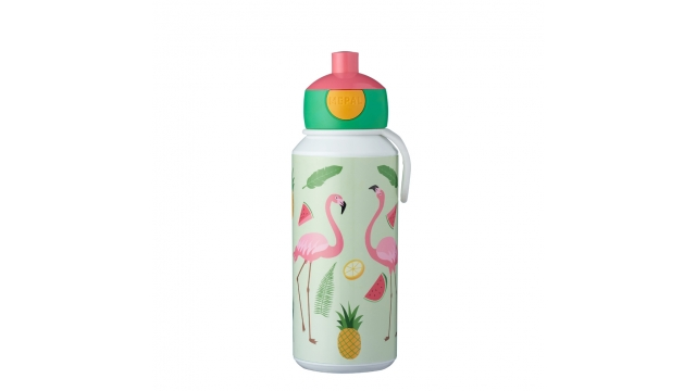 Rosti Mepal Drinkfles Pop-Up Tropical Flamingo 400 ml