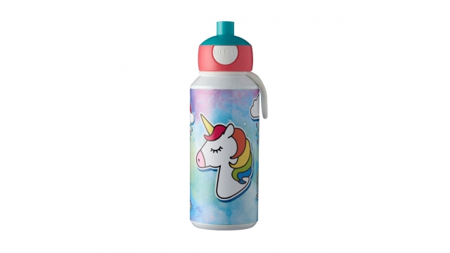 Rosti Mepal Pop-Up Drinkfles Unicorn 400 ml