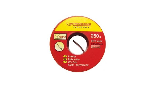 Rothenberger CMR045262E Radiosoldeer 2mm 183