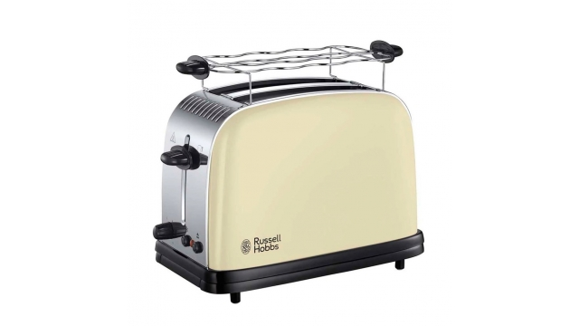 Russell Hobbs Colours Plus Classic Cream Broodrooster Crème/RVS
