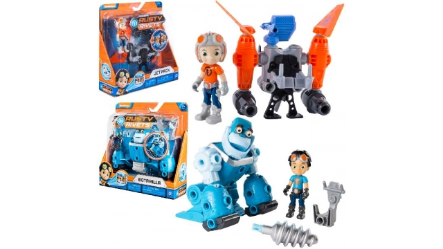 Rusty Rivets Core Build Assorti