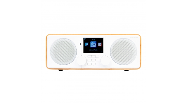 Salora IRW850 Internet Radio Wit/Hout