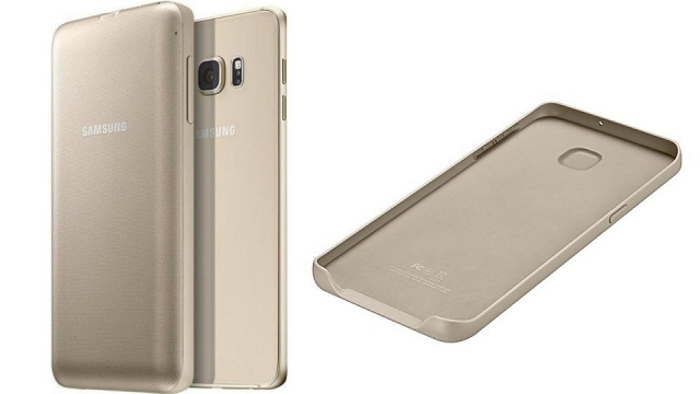 Samsung EP-TG928BFEGWW Wireless Charging Pack Goud voor Samsung Galaxy S6 Edge+