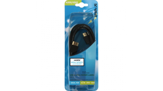 Scanpart Hdmi Kabel Hs En E Thin 2.0m