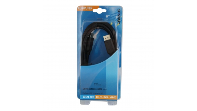 Scanpart Displayport Kabel (m)-(m) 2.0m