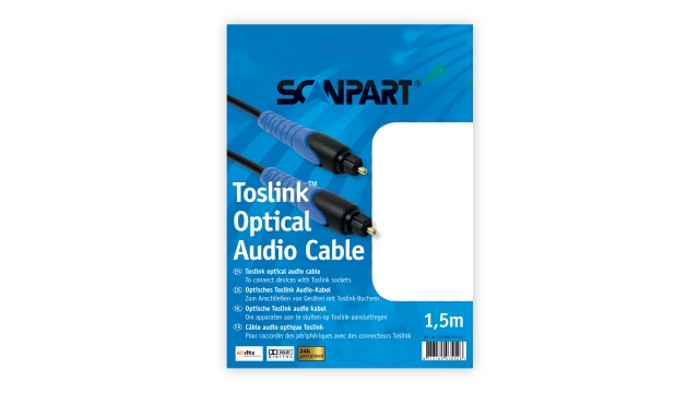 Scanpart Toslink Optical 1,5m