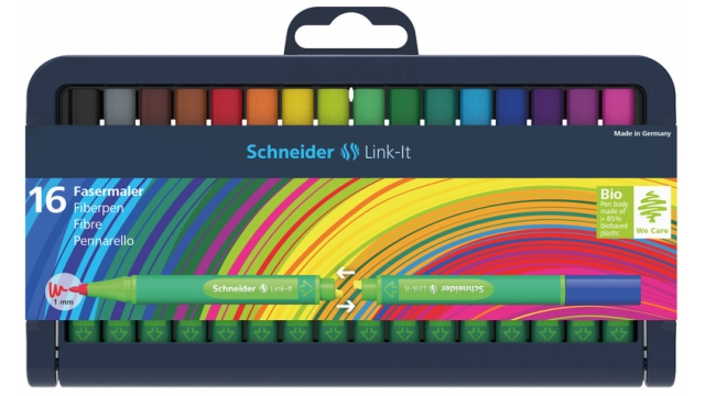 Schneider S-192092 Viltstift Link-It 1,0mm Assorti 16 Stuks